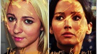 the hunger games katniss everdeen makeup tutorial training
