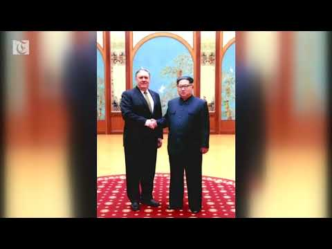 Pompeo visits North Korea again before summit
