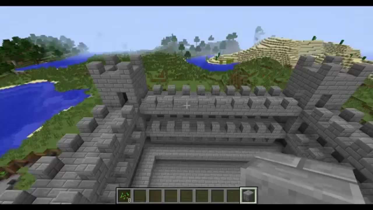 Майнкрафт стража замка