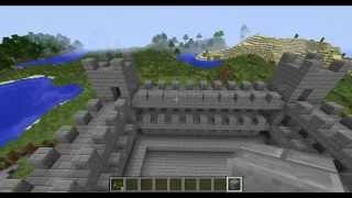 Строим замок в Minecraft