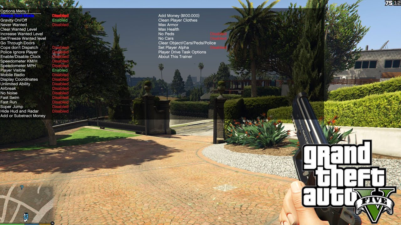 how to disable gta v mods