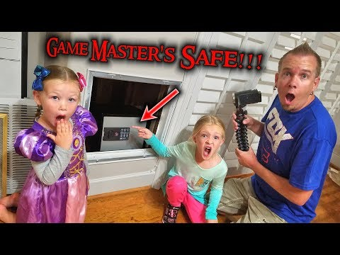 Game Masters Top Secret Abandoned Safe Found Hidden in Our House!!!