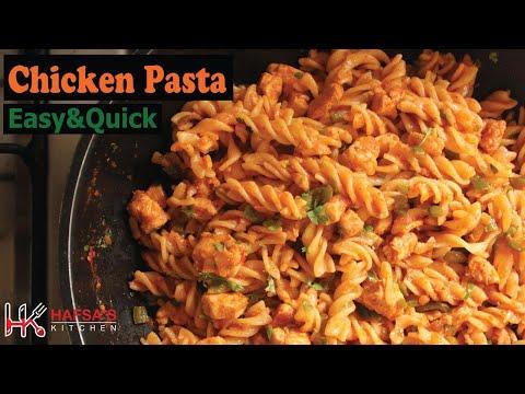 Chicken Pasta In Lock-Down | Easy,quick & tasty Red Sauce Pasta | Yummy Pasta recipe | Masala Pasta