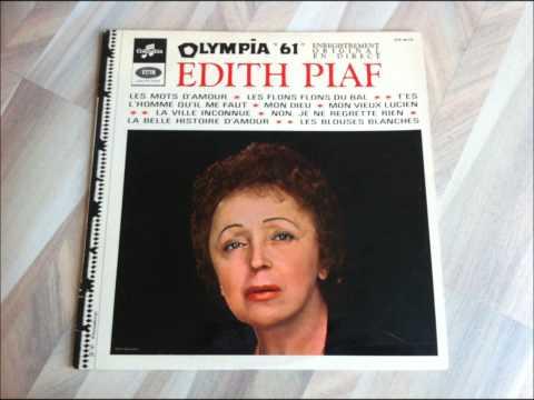 Edith Piaf - Olympia 61