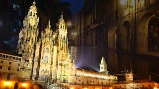 Chove en Santiago  -Ismael Serrano & Luar Na Lubre-   (Santiago de Compostela)