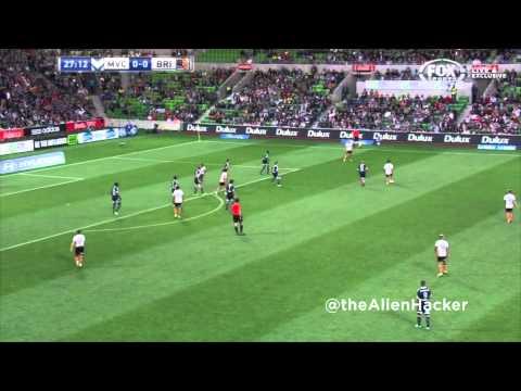Liam Miller Goal vs Melbourne Victory - Round 13 - 04.01.14