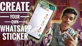 CUSTOM STICKERS - How to create your own whatsapp stickers? #whatsappstickers #customizedstickers