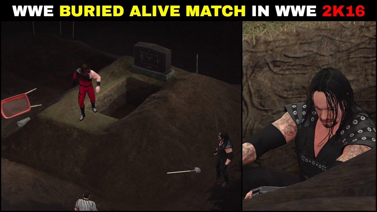 WWE Buried Alive Match WWE 2K16 | WWE 2K16 Buried Alive Match In 2k Showcase 2021 ||