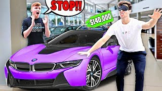 Infinite Lists Buys EVERYTHING I Touch Blindfolded For 24 Hours - Challenge