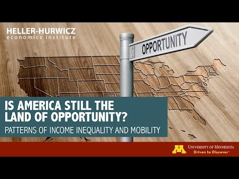 Is America Still the Land of Opportunity? Patterns of Income Inequality and Mobility