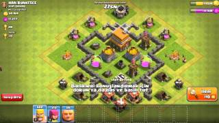 Clash Of Clans #2 - Köy Binası 5'e Doğru ! / Clash of clans - Village, Building 5, It's true !