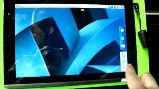 Acer Picasso hands-on. Tegra2 Android Tablet