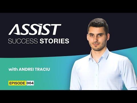 Meet the team - Ep. 4 | iOS Developer - Sfaturi pentru începători | Andrei Traciu | ASSIST Software