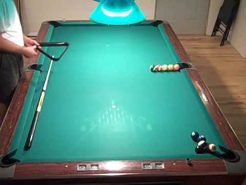 easy pool trick shot youtube. Black Bedroom Furniture Sets. Home Design Ideas