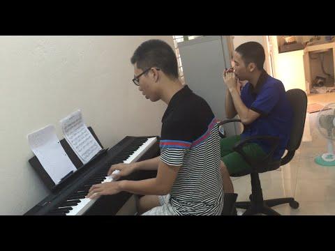 Bèo dạt mây trôi Piano + Harmonica
