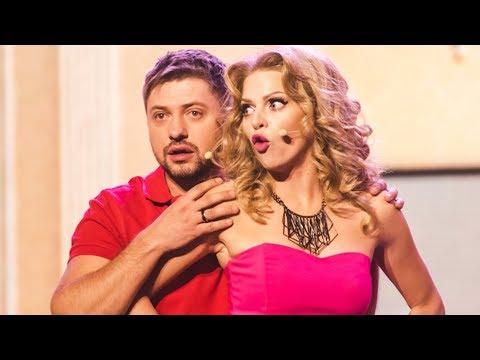 Блондинка головного мозга! Смешные видео - Яна Глущенко из Дизель Шоу   ЮМОР ICTV