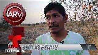 Ejecutan a activista que se oponía a una hidroeléctrica | Al Rojo Vivo | Telemundo