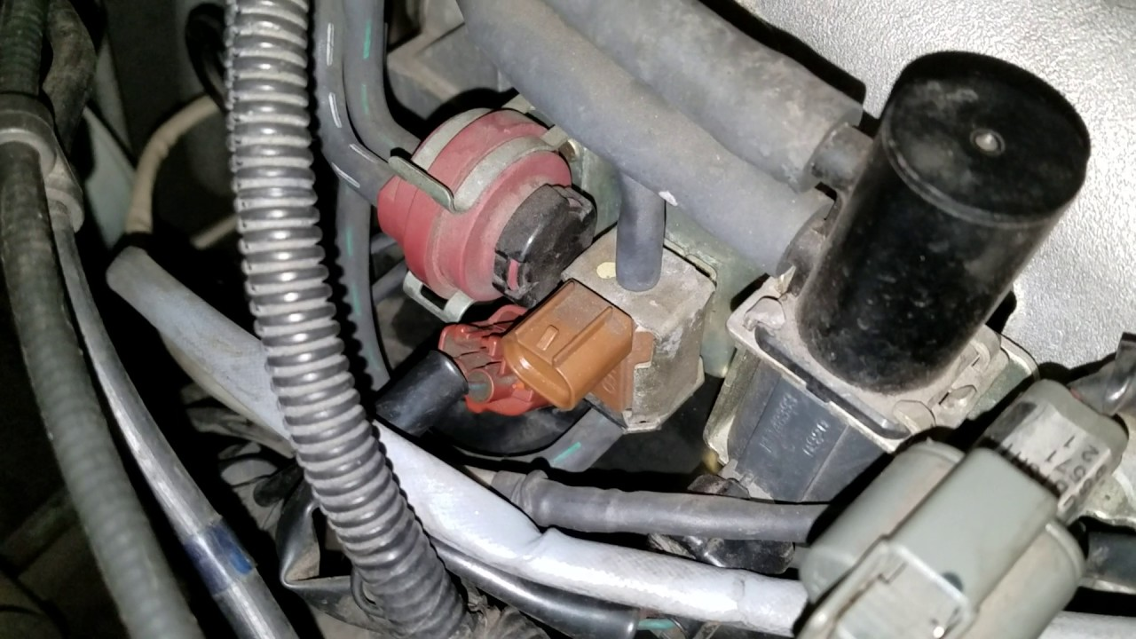 small resolution of change egr solenoid on a 2001 mitsubishi eclipse v6