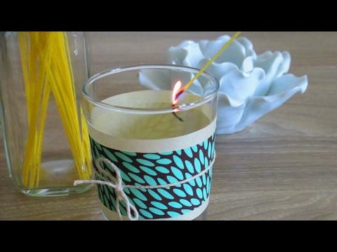 Tuto 8 comment allumer une bougie sans se bruler - Comment personnaliser une bougie ...