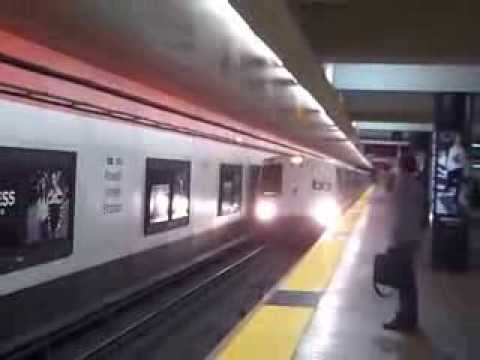 BART Train to Daly City at Powell Street Station