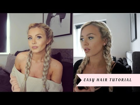 QUICK & EASY HAIR PLAIT TUTORIAL! 💁