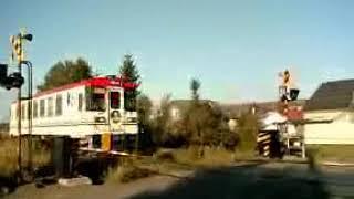 2006年廃止「北海道ちほく高原鉄道ふるさと銀河線」@北海道池田町 Furusato Gingasen train at Ikeda, Hokkaido