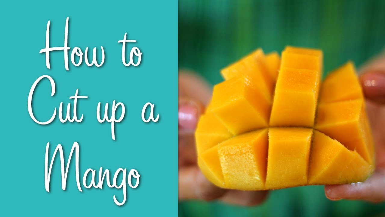 How To Cut Up a Mango | Hilah Cooking | Learn To Cook Series - YouTube