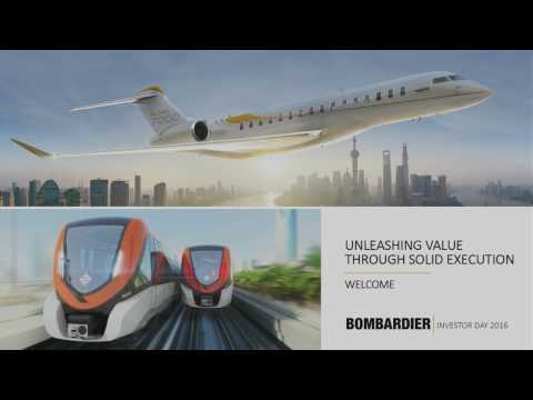 Bombardier Investor Day 2016