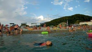 Пляж в Агое...какие произошли изменения.
