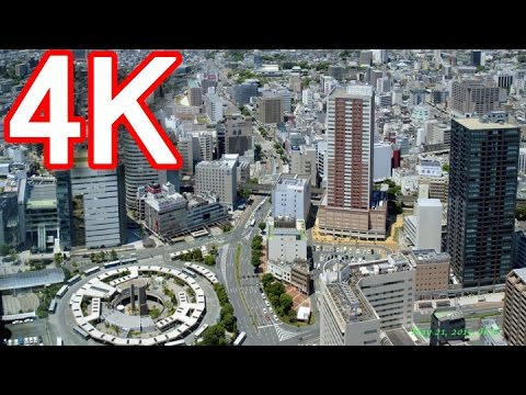 【4K動画撮影】静岡県浜松市・市街地!Hamamatsu-city in Japan!Panasonic-4K-HC-WX970M!ジャーナリスト大川原 明!現地撮影