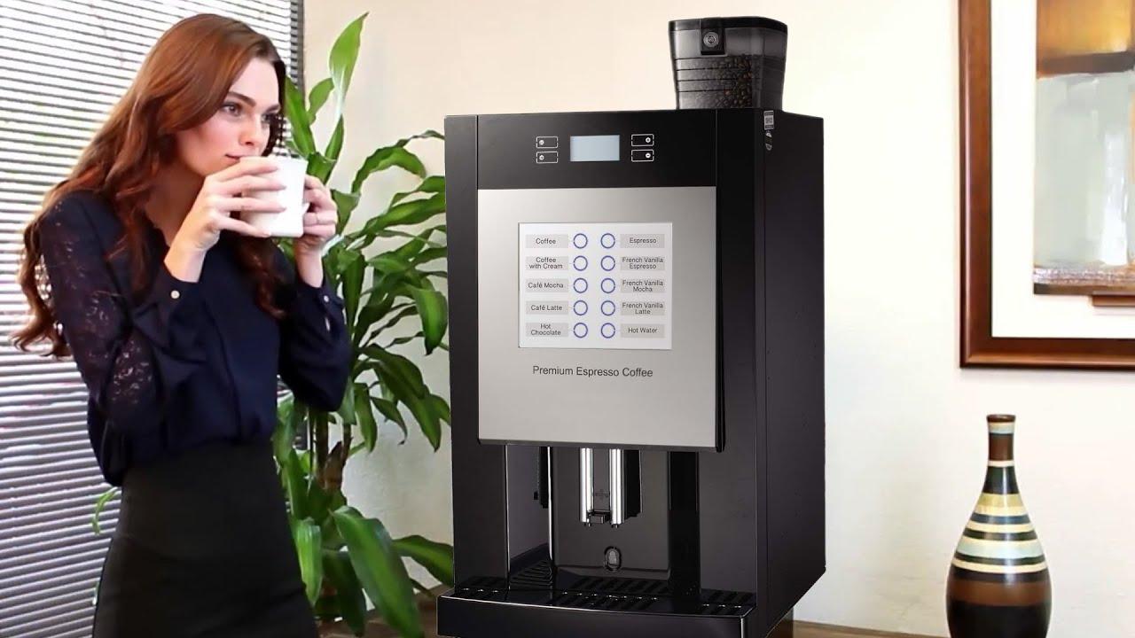 aroma 5000 office coffee machine youtube