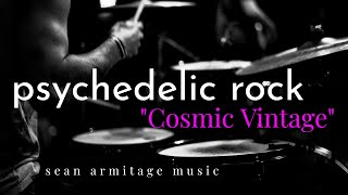 "Drumless Backing Track Upbeat Psychedelic Rock (140 BPM) ""Cosmic Vintage"""