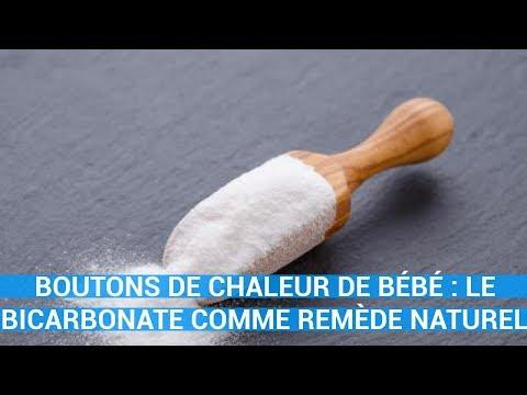 BOUTONS DE CHALEUR DE BÉBÉ : LE BICARBONATE COMME REMÈDE NATUREL-remede naturel c0ns3ils