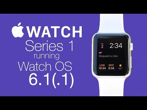 Watchos 6.1.1 - Apple Watch Series 1