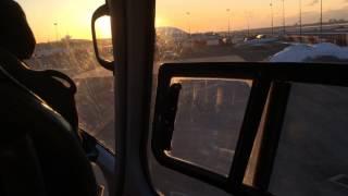 Landing at JFK Sheltair FBO on Blade/Liberty Helicopter.  6 min Manhattan to JFK!