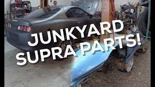 House! | Junkyard Supra Parts!