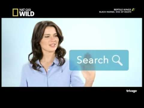 Trivago advertisement girl Gabrielle K Miller. Australia
