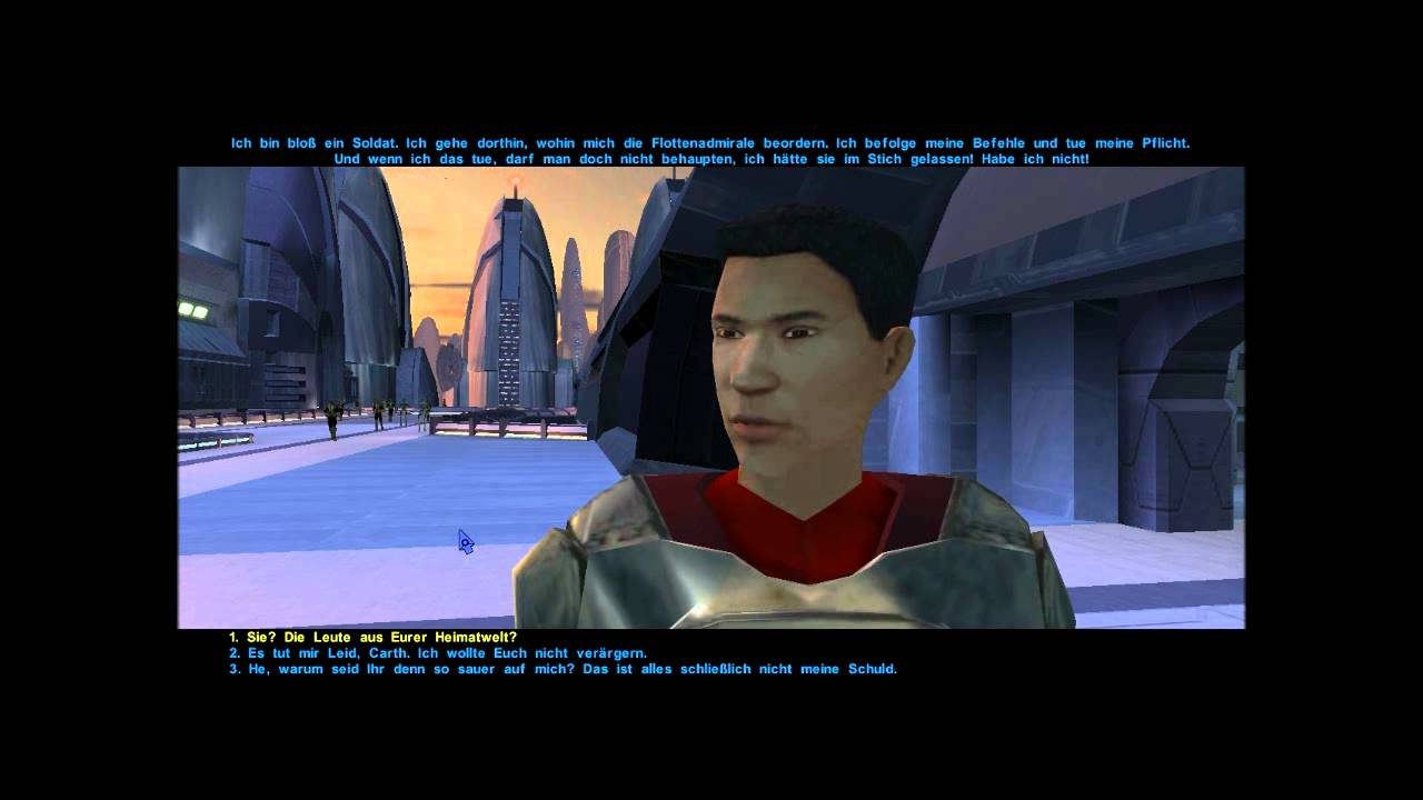 Let's Play Star Wars: Knights of the Old Republic - Endar ...