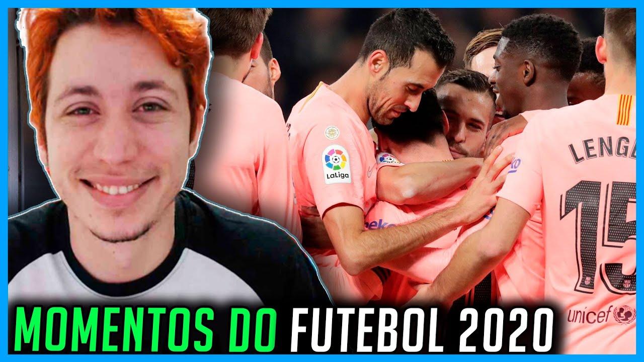 REACT Jogadas Geniais no Futebol 2020/2021!