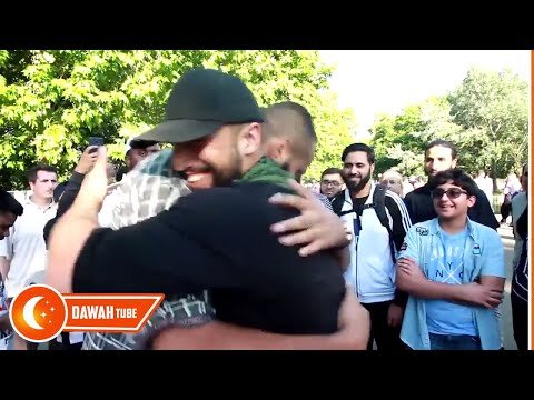 Brother Tony Accepts Islam | Muhamamd Hijab , Hussain & other brothers | 02/07/2017