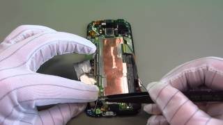 HTC One M8 Disassembly & Assembly - handyreparatur123