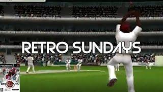 IT'S OVER THE BOUNDARY | Brian Lara International Cricket 2005 (PS2) | Retro Sundays