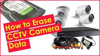 How to Erase CCTV Camera Data | How to Format CCTV Surveillance Camera DVR Hard Drive Safely