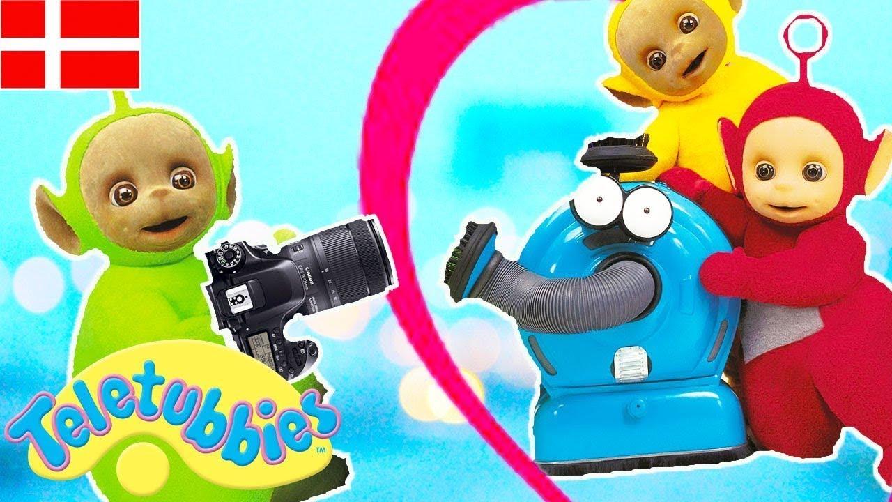 Teletubbierne på Dansk: 112 ☆ Foto Ansigt ☆ Tegnefilm til børn ☆ NY ☆