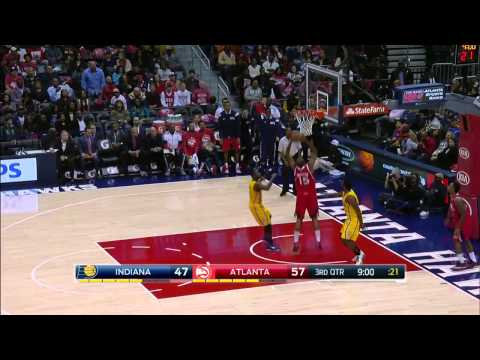 Indiana Pacers vs Atlanta Hawks | November 1, 2014 | NBA 2014-15 Season
