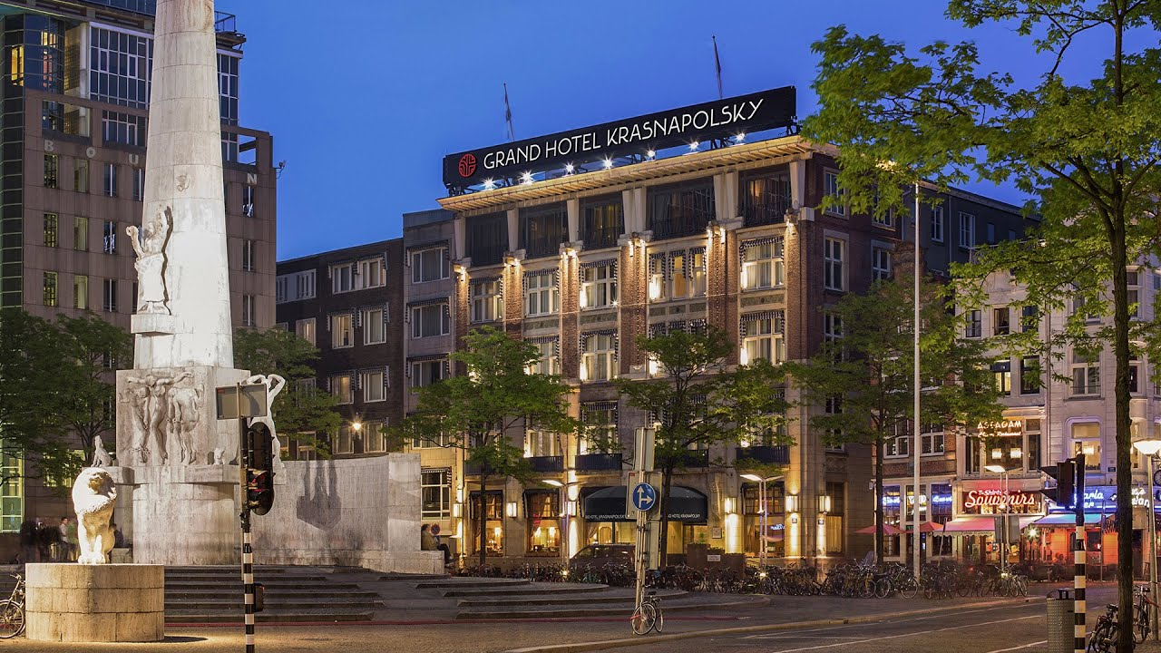 Grand Hotel Krasnapolsky I Hotels Amsterdam Youtube