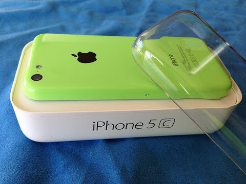 Unlocked Green Iphone 5c Unboxing