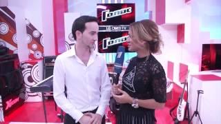 Интервью ✔Эмиль Кадыров  ♫♫  после Слепого прослушивания шоу ГОЛОС 4 04.09.2015