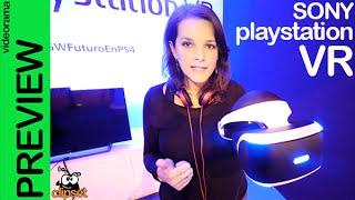 Sony PlayStation VR Morpheus preview en español