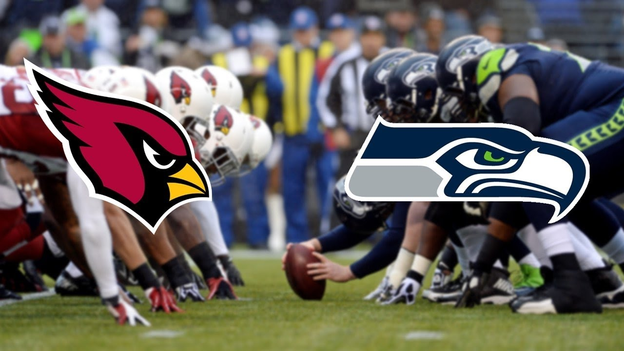 Image result for Cardinals vs Seahawks nfl pic